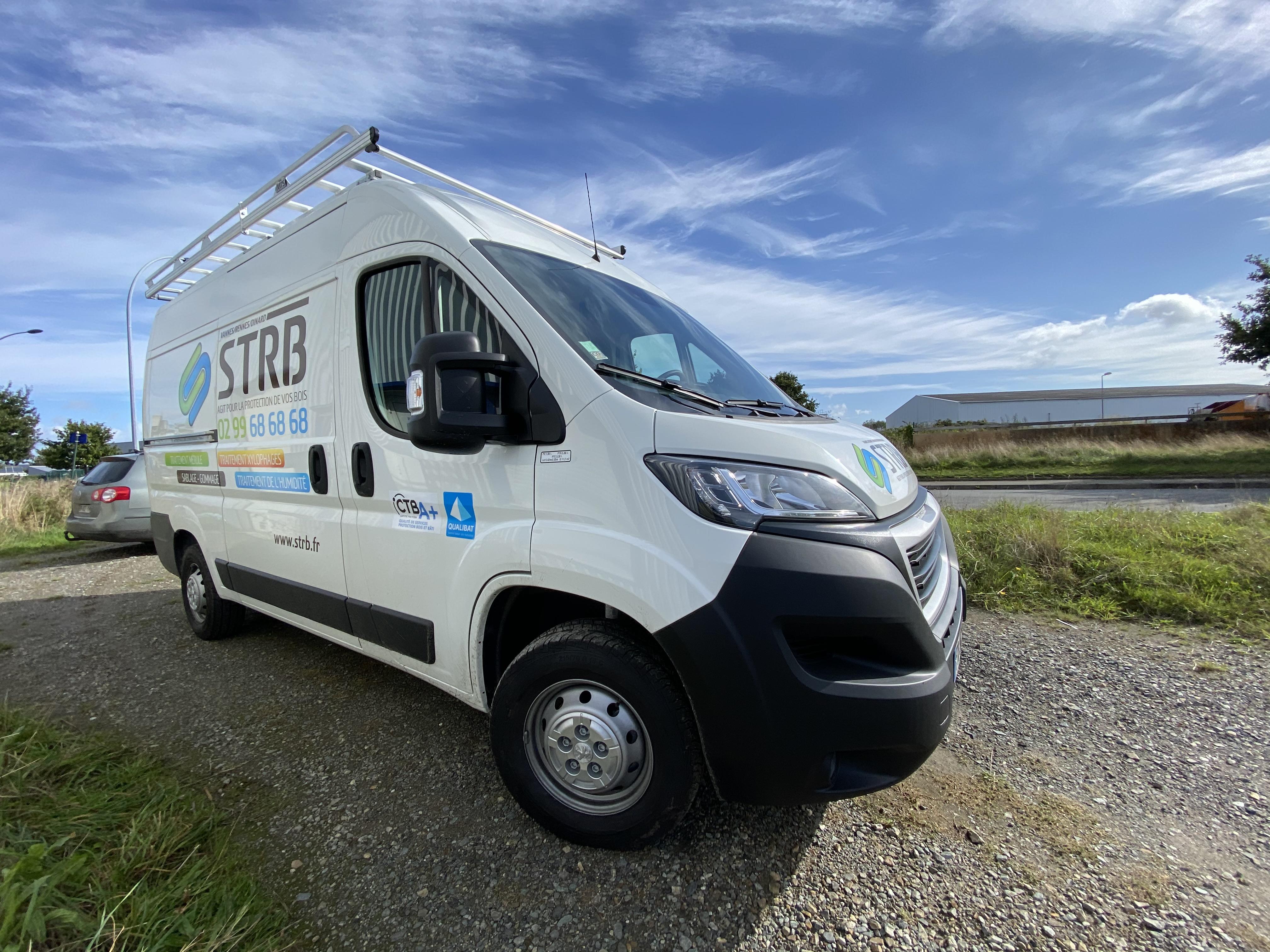 Nouveau véhicule STRB