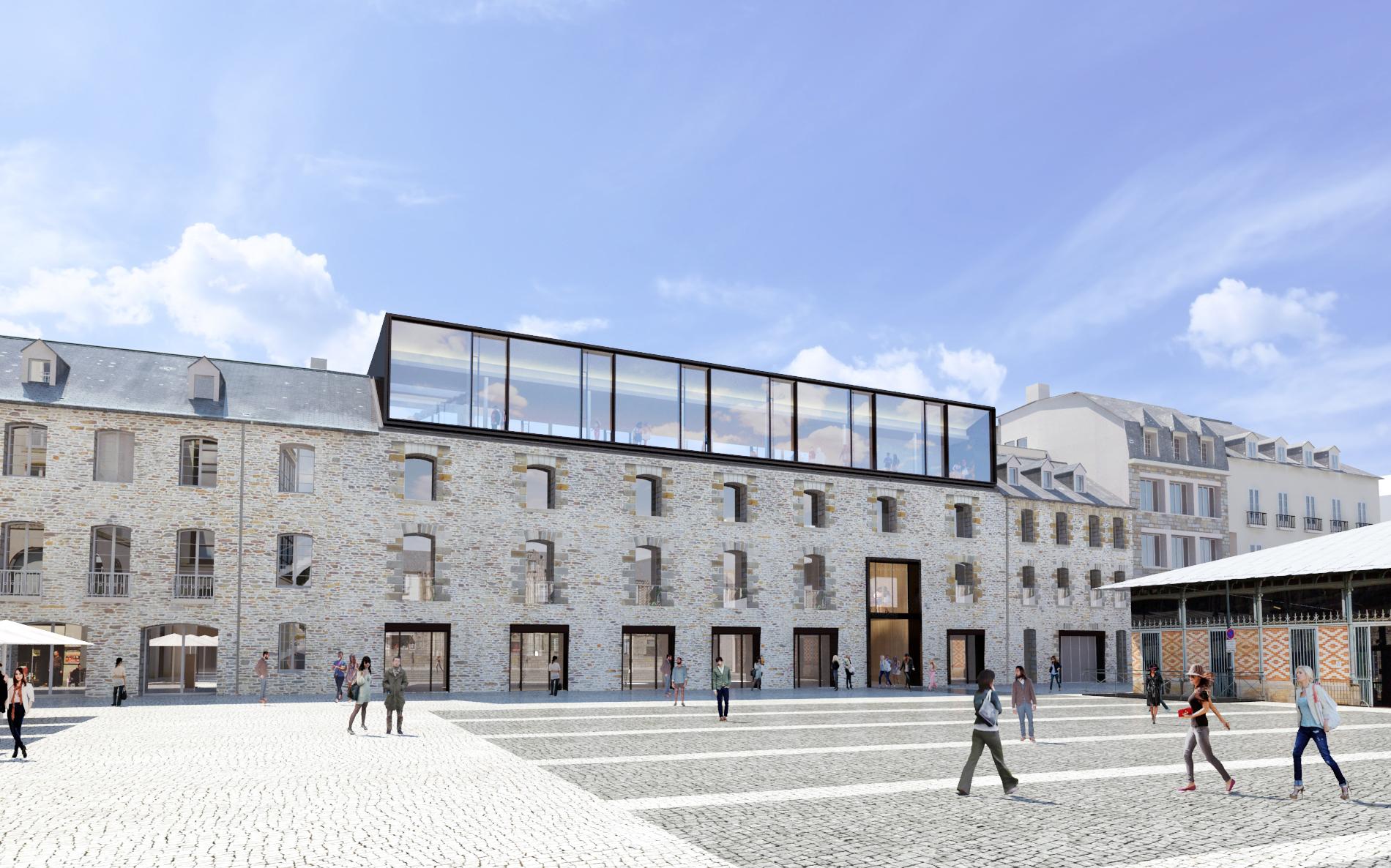 Rénovation et traitement des bois Place des Lices Rennes Groupe Legendre